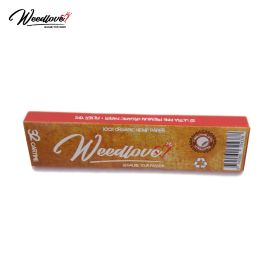 Natural Hemp Rolling Papers pack Weedlove